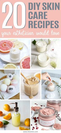 Create your own at-home spa and take a little time to rejuvenate and soften your skin. Soon your esthetician will be asking for your DIY skin care recipes.
