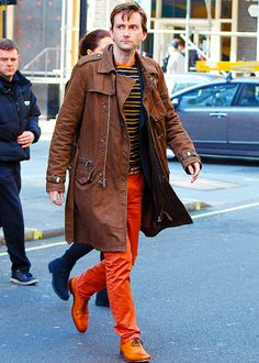 David Tennant. // look at those crazy colours! Only David could pull that off, only David <3
