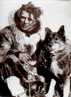 Leonhard Seppala and Togo - Sled Dog Racer ran the longest part of the diptheria serum run to Nome