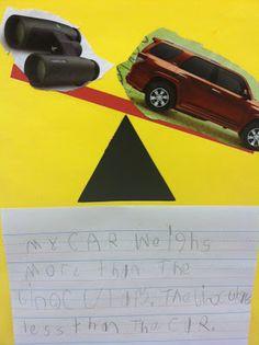 Mrs. Davis Digs Kindergarten: Weighing Attributes in Kindergarten