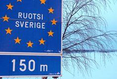 Pello Suomen ja Ruotsin rajalla Tornionlaaksossa