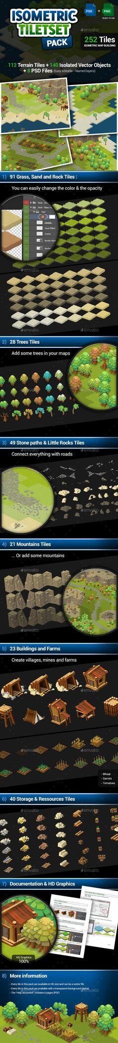 Isometric Tileset - Map Creation Pack (Tilesets)
