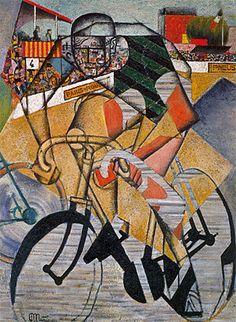 El velódromo, 1911-1912, Jean Metzinger