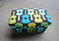 Groovy Guitars Boutique Style Nursery Wipe by LauraLeeDesigns108, $14.99