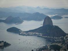 #RJ Rio de Janeiro, Brazil. View of the Pão de Açúcar