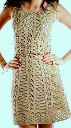Diy Ropa Playa Patterns Ideas For 2019 Crochet Fashion, Diy Fashion, Diy Bags Jeans, Diy Gifts For Girlfriend, Boho Style Dresses, Crochet Cardigan, Festival Wear, Crochet Clothes, Lace Dress