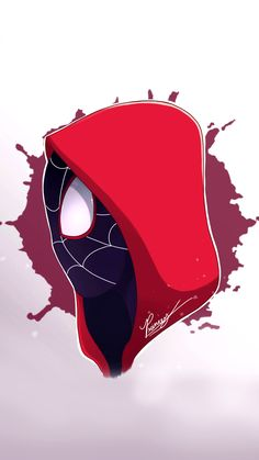 Spider-Man, in the Spider-Verse - Marvel Comics Spiderman Kunst, Black Spiderman, Amazing Spiderman, Miles Morales Spiderman, Silver Age Comics, Bd Comics, Marvel Wallpaper, Spider Verse, Marvel Cinematic