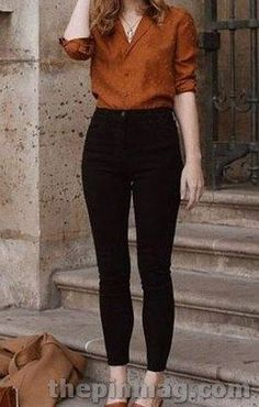 20 Chic Jeans Ideas For Women Work Outfits - Business Outfits for Work Jeans Outfit For Work, Simple Work Outfits, Summer Work Outfits, Work Attire, Work Casual, Casual Office, Simple Office Outfit, Outfit Office, Smart Outfit
