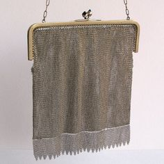 STUNNING vintage chain mail handbag   to use in by CoolVintage, $125.50