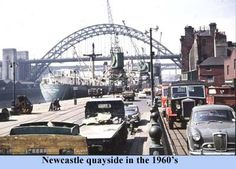 Quayside in the 1960s
