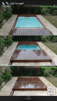 Cover the pool
