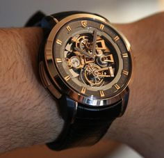 Christophe Claret Soprano Watch Hands-On