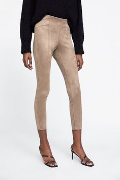 f45e52d0c8821 41 Best Suede leggings images in 2019 | Suede leggings, Biker, Black ...