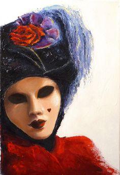 Venetian Mystery I By Lena Kashigin