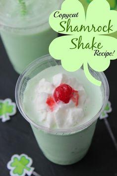 Copycat Shamrock Shake Recipe!