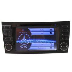 Высокое Качество Управления Рулевого Колеса Для Merecedes W211 Автомобильный Dvd-плеер с Bluetooth RDS GPS Навигация Радио Стерео Сенсорный Экран
