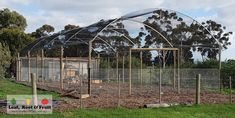 Backyard Orchard Netted Structures - Leaf, Root & Fruit Gardening Services Melbourne