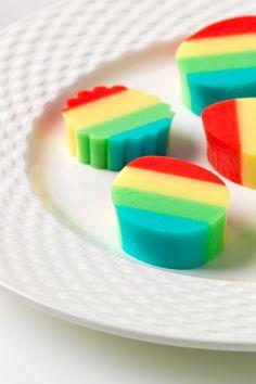 Rainbow JIGGLERS. You don't need rain to make them.