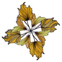 Lovely Leisure Coloring Book | Fall Leaves