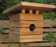 Resultado de imagen para wooden bird houses