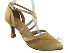 Natural Spin Tango Salsa Shoes/Tango Shoes/Fashion Shoes(Closed Toe):  T1339_Fle