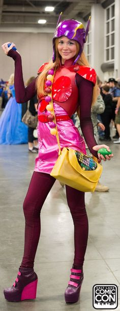 Honey Lemon from Big Hero 6 cosplay at Salt Lake Comic Con 2015