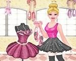 Em As Sapatilhas Mágicas da Barbie, Barbie ama dançar e sua dança favorita é o balé. Hoje ela tem uma apresentação muito importante e por isso ela resolveu criar, com sua ajuda, sua roupa de bailarina. Junte-se a Barbie e mostre sua criatividade e o seu talento de estilista. Divirta-se com a Barbie!