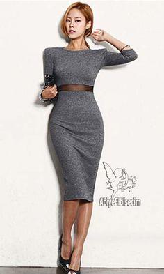 Bayan elbise diz hizası kalem elbise,bayan elbise,online elbise,ucuz elbise,elbise satın al