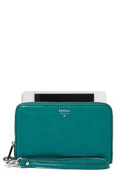 Fossil 'Sydney' Zip Phone Wallet | Nordstrom