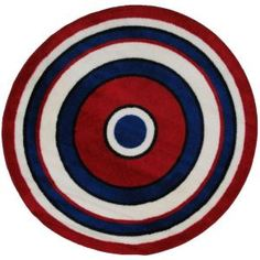 Round Area Rug from LA Rug Inc. #homedepot