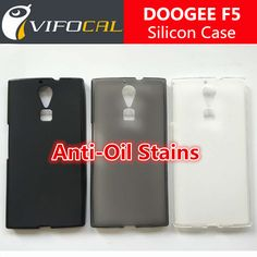DOOGEE F5 Silicon Case 100% New Style TPU Comfortable Protector Back Cover For DOOGEE F5 Mobile Phone - Free Shipping