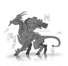 Dragon, Alexandr Pechenkin on ArtStation at https://www.artstation.com/artwork/dragon-0ea48cf2-9cac-46bc-8bec-0be26b2e3da1