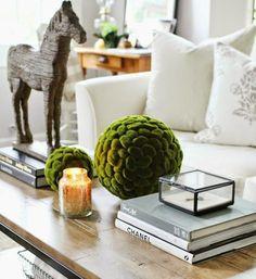 COZY LITTLE HOUSE: Ideas For Tabletop Vignettes