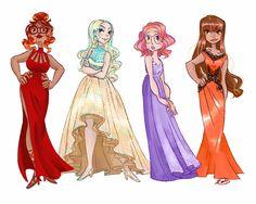 Miraculous ladies potential school dance designs Part 1 [Part 1] [Part 2]