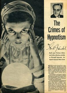 The Crimes of Hypnotism//Warning, This Hypnosis Tactic (When used properly) Is…