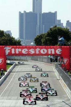 The Detroit Grand Prix. Indy cars on Belle Isle returned in 2012. My kids went on Saturday and had a great time. - Love to bet on sports? Start here !!!