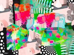 Abstract art by gina Startup #abstractart
