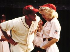 there's no crying in baseball!!!!  <3 it!