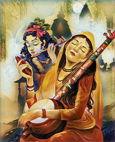 Krishna Drawing, Krishna Painting, Krishna Art, Shree Krishna, Radhe Krishna, Lord Krishna Images, Krishna Pictures, Krishna Flute, Baby Animal Drawings