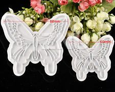 Butterfly cutter for cookies, fondant icing, cakes etc.