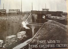 lyons and co. Three Bridges, Brentford, Close To Home, Third Way, West London, Old Photos, Railroad Tracks, Past, Explore