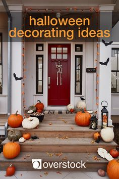 Halloween Decorating Ideas - Decorate your home for Halloween and embrace the spooky spirit of the season. These tips and tricks will help you get started on your frighteningly fun journey.