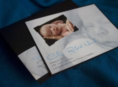 Birch - Photo Keepsake Birth Announcement - product images  of