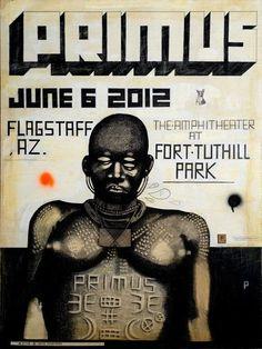 Primus show poster