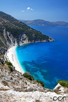 Myrtos Beach - Kefalonia by calincosmin