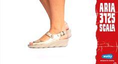 #Wolkyshop Deze week op onze #catwalk: de 3125 Scala! Deze chique sandaal met sleehak uit de gloednieuwe Aria collectie is super comfortabel en heeft een lichtgewicht PU zool. Door het leer met 2-tone effect krijgt de sandaal een flitsende uitstraling. #Enschede #Haverstraatpassage