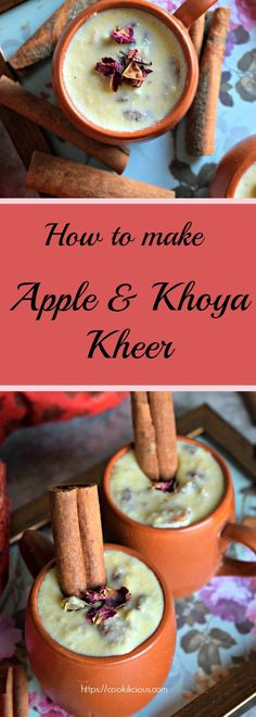 Apple Khoya Kheer -