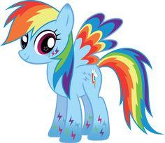 Rainbow Power Rainbow Dash Vector by icantunloveyou on DeviantArt