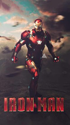 The Iron Man Poster - iPhone Wallpapers