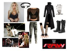 Designer Clothes, Shoes & Bags for Women Wrestling Outfits, Wwe Outfits, Cool Outfits, Wwe Stuff, Wwe Divas, Trench, Black Gold, Supernatural, Diesel